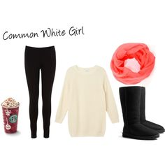 """""""Common White Girl"""" i hate to admit this but this is me everyday Fall College Outfits, Lazy Day Outfits, Girl Outfits, Cute Outfits, Fashion Outfits, Common White Girl, Typical White Girl, White Girls, High School Fashion"""