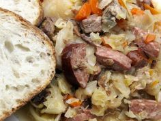 This Meaty Polish Hunter's Stew Is Perfect for Tailgating: Hunter's Stew - Bigos