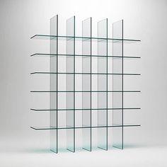 [ shiro kuramata ]: glas italia bookcase
