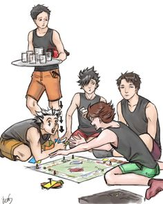 Bokuto raking in Oikawa's cash- HQ captain monopoly
