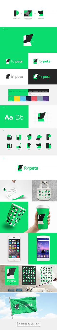 ForPets on Behance... - a grouped images picture - Pin Them All