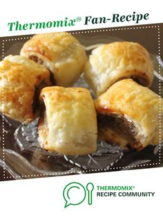 Recipe Mum's Sausage Rolls by learn to make this recipe easily in your kitchen machine and discover other Thermomix recipes in Baking - savoury. Potato Puffs, 5 Recipe, Sausage Rolls, Recipe Community, Snacks, Baking, Dinner, Breakfast, Food