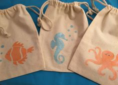 Hey, I found this really awesome Etsy listing at https://www.etsy.com/listing/210450839/under-the-sea-favor-bags-9-muslin-bags                                                                                                                                                                                 More