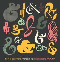 Search Results ampersand — Friends of Type