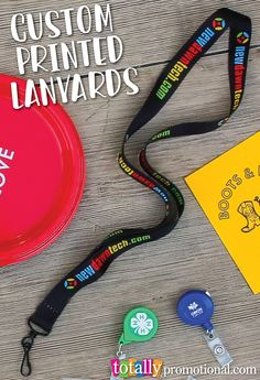 Custom printed #lanyards are a popular trade show & event product that employees, clients & guests will use for branding & identification! Our high quality lanyards are easy to customize & budget friendly! We offer a free art proof, free setup & free ship