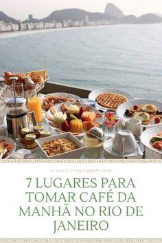 O café da manhã é a refeição mais importante do dia, por isso nós separamos 7 lugares para você tomar café da manhã no Rio de Janeiro. Em alguns deles, além do café da manhã digno de bons hotéis, você vai desfrutar também de uma vista de tirar o fôlego, nada mal não é? Escolha uma das opções e aproveite!!!