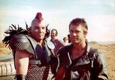 Vernon Wells & Mel Gibson as Wez & Max in 2 Fiction Movies, 80s Movies, Great Movies, Science Fiction, Mad Max Mel Gibson, Mad Max 2, Mad Max Fury Road, Star Trek, The Road Warriors