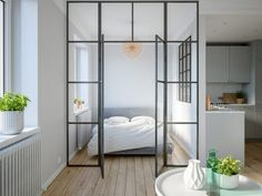 3+Modern+Studio+Apartments+With+Glass-Walled+Bedrooms