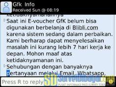 Website GfK Indonesia Masih Belum Bisa Dibuka #OnlineSurvey