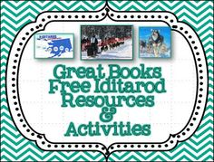 LMN Tree: Time for the Iditarod: Great Books, Free Resources and Activities Fun Classroom Activities, Reading Activities, Teaching Reading, Teaching Social Studies, Teaching Resources, Teaching Ideas, Math Stem, Third Grade Science, New Teachers
