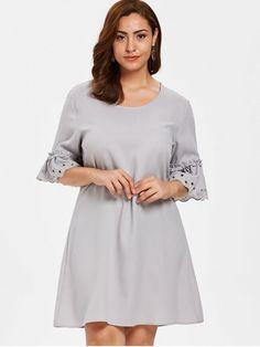 b290fa1b2b1 AdoreWe  Zaful Zaful Asymmetrical Bodycon Plus Size Midi Dress ...