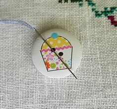 Needle Minders, Flower Cupcakes, Unique Jewelry, Handmade Gifts, Awesome, Flowers, Etsy, Vintage, Kid Craft Gifts