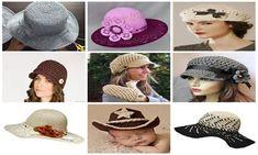 TIĞ İŞİ ÖRGÜ ŞAPKA NASIL YAPILIR VİDEOLU TÜRKÇE | Nazarca.com Winter Hats, Crochet Hats, Fashion, Amigurumi, Knitting Hats, Moda, Fashion Styles, Fasion