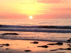 LaJolla Shores, California California, Spaces, Celestial, Sunset, Outdoor, Outdoors, Sunsets, Outdoor Games, The Great Outdoors