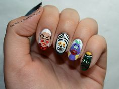 Which Comedy Artist Do These Nails Represent ?? #AskaTicket
