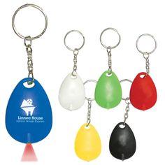 #76 Tear Drop Mini Light Key Tag