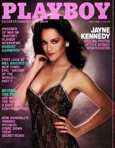 Jayne Kennedy Playboy Magazine July 1981--first African American woman to grace the cover