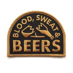"""Revere Company """"Blood, Sweat & Beers!"""" Patch #RevereCompany #Beer #Patches"""