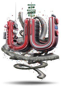 2011 UU THEORY by Mike Campau, via Behance