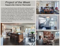 Project of the Week: Naperville Interior Remodel