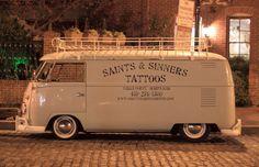 Outstanding ... saints & sinners Tattoos vw van