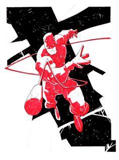 Daredevil - NYCC by MatteoScalera.deviantart.com on @deviantART