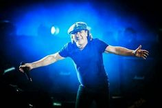 The Official AC/DC website and store Brian Johnson Acdc, Thunder From Down Under, Malcolm Young, Bon Scott, Famous Pictures, Angus Young, Greatest Rock Bands, Rock Legends, Blues Rock
