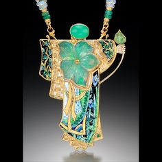 Featured designer: Marianne Hunter - Reinventing Art Nouveau - Design Jewelry and Accessories Magazine