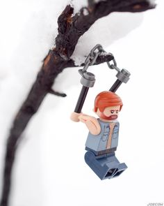 Chuck Norris's calendar goes straight from March 31st to April 2. No one fools Chuck Norris. . Winter in spring? Chuck Norris started his routine outside - now it's spring. . #lego #chucknorris #toy_photographers #olympusem5 #blizzard #minifigurescom