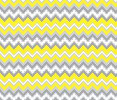 zigzag fabric by cottageindustrialist on Spoonflower - custom fabric