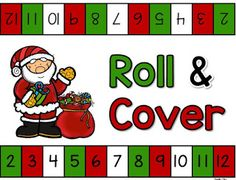 December Roll and Cover Freebie