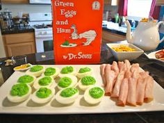 Dr. Suess Party...Green Eggs  Ham