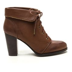 TAN Fold Move Faux Leather Lace-Up Booties (270 SEK) ❤ liked on Polyvore featuring shoes, boots, ankle booties, ankle boots, tan, chunky-heel ankle boots, faux suede lace-up booties, leather lace up booties, high heel booties and tan booties