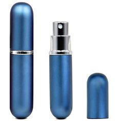 TOOGOO(R) Facile a emplir Remplisage Voyage Parfum ATOMISEUR Pompe Spray Bouteille/Voyage/Sac a main – Bleu