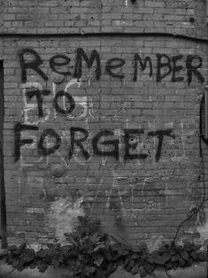 Some very hurtful memories.