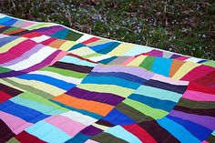 Quilting in an Organic Grid