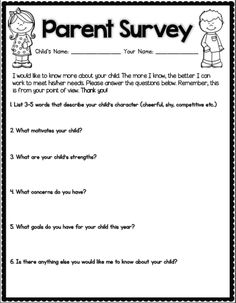 Back to School: Getting to Know Your Students
