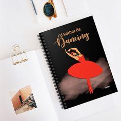 Cute Ballet Dancer Notebook Journal, Dancer Recital Gifts, Dancer Teacher, Bday Gift for Her Special Birthday Gifts, Birthday Gifts For Her, Toddler Boy Gifts, Birthday Reminder, Cute Valentines Day Gifts, Dance Recital, Ballet, Christian Gifts, Journal Notebook