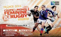 Coupe du Monde féminine de rugby: la France à l'honneur!