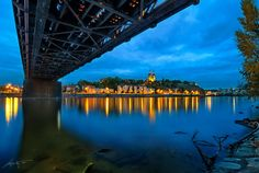 --Vysehrad Railway Bridge-- by Marek Kijevský on 500px