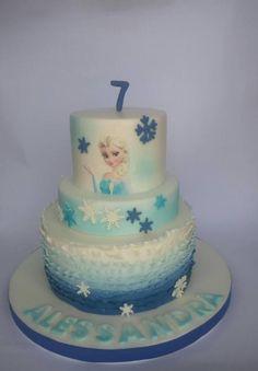 frozen cake - Cake by mariana frascella