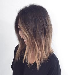 Soft Ombre For Shoulder-Length Hair