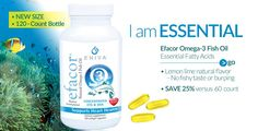 IT'S HERE: Brand-New Efacor 120-Count Bottle  Same Superior Formula, Now a Better Value:  • SAVE 25% versus the 60 count price. Efacor Helps to Support:  • Cardiovascular Health* • Immune & Joint Health* • Neurologic Health & Mood* • Vision & Ocular Health* • Healthy Weight & Skin* http://shop.enivausa.com/487786/en-us/product.aspx?id=13511
