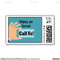 Helping You Succeed Business Stamp