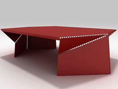 Moroso Bent Coffee Table by Christophe De La Fontaine