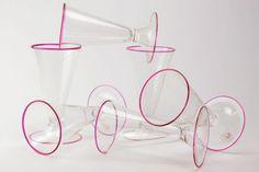 Marino Santi (Eugenio Ferro & C. ) - Set of 6 Goblets 2013