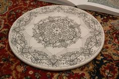 Islamic Art Cake Plate. by Humna Mustafa, via Behance
