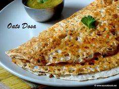 : Instant Oats Dosa | Easy Indian Oats Dosa