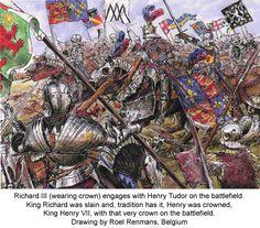 battle of bosworth field - 1485
