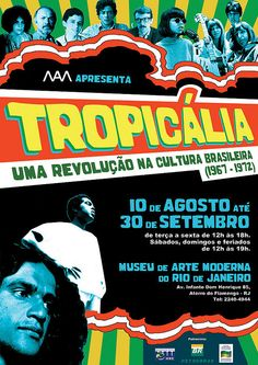 Tropicalia Exhibit Poster
